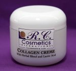 Collagen Creme with Herbal Blend & Lactic Acid